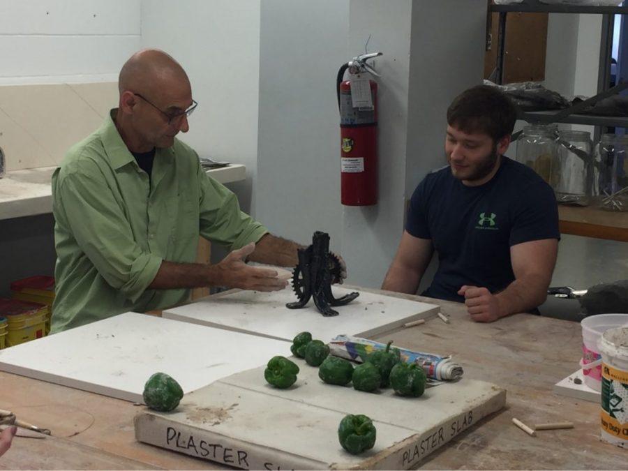 Krise Hall basement houses new ceramics studio