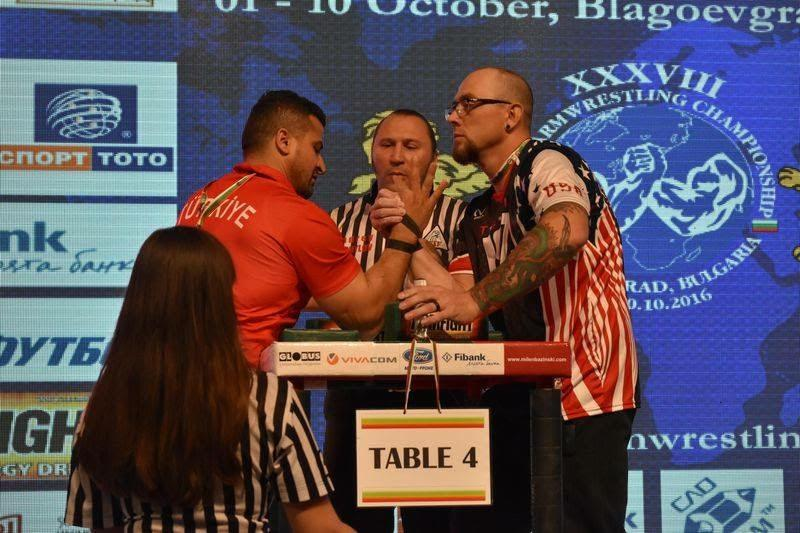 Student competes at World Armwrestling Championship