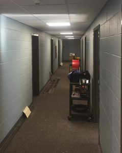 Boyd Hall renovations nearing completion