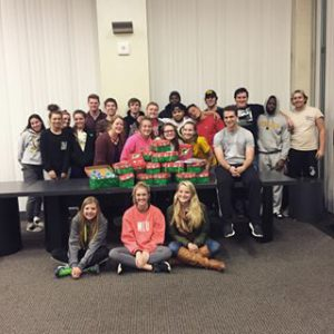 WLU FCA gives back to campus, community