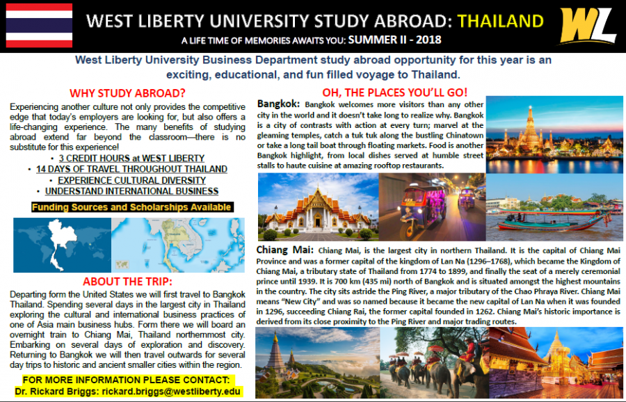 WLU offers exciting study abroad programs for summer 2018