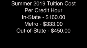 Summer classes are priceless for college students