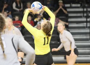 WLU volleyball faces tough MEC test this weekend