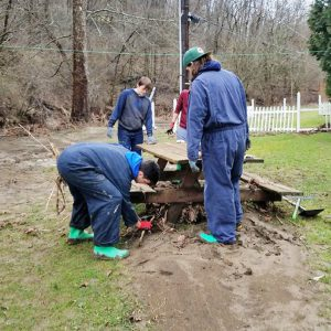 WLU students lend a helping hand with flood relief