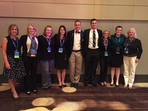 Phi Beta Lambda collects state, national awards