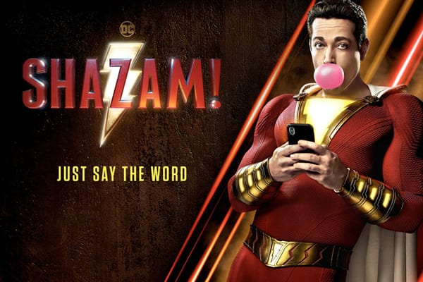 Shazam zaps his way into theaters