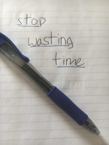Manage your time wisely: Stop caring