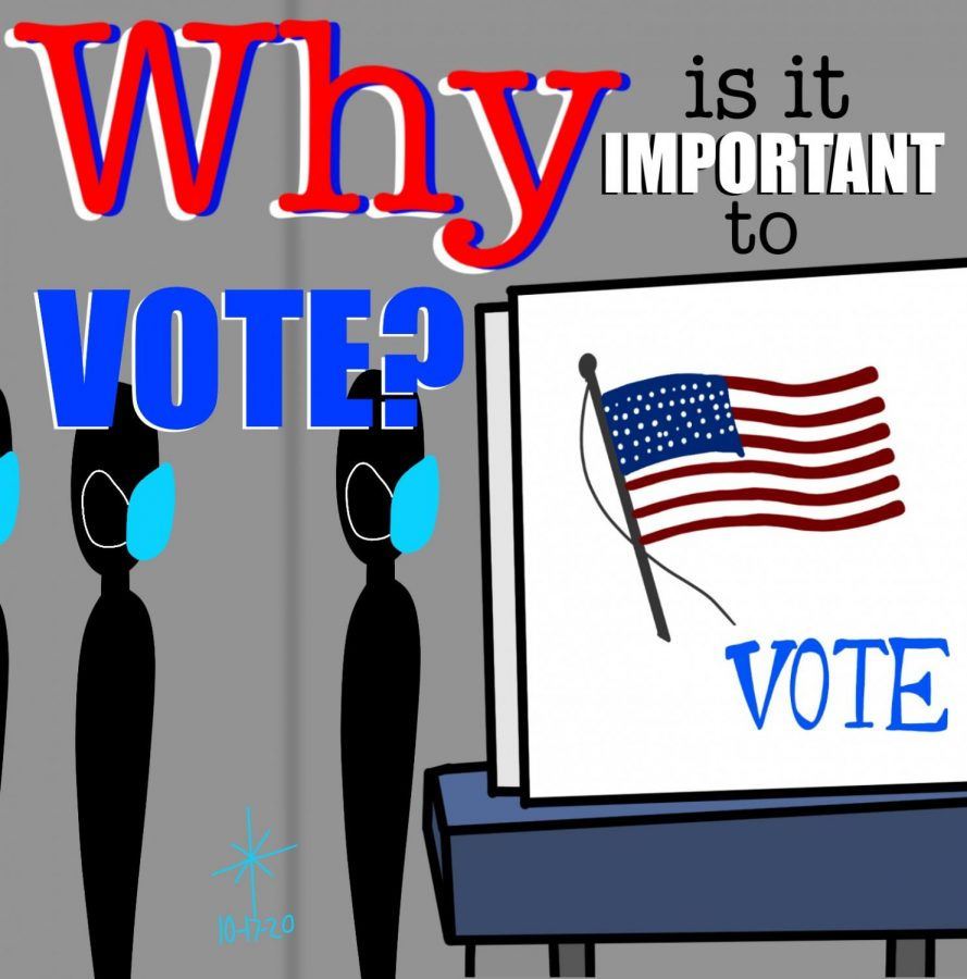 Why is it important to vote illustration
