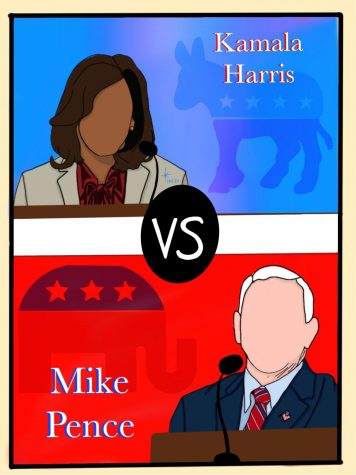 Vice Presidential Debate Illustration