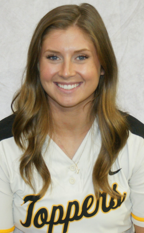 Senior softball player, Haley Collett, is optimistic in preparing for her last season on the hilltop