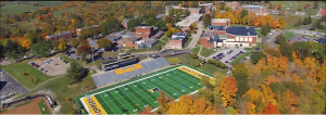 Thompson's job as Creative Video Director allowed him to shoot a video showing the aerial view of West Liberty's campus. Thompson said this video was one of his proudest accomplishments. The video can be viewed on West Liberty's Home page.