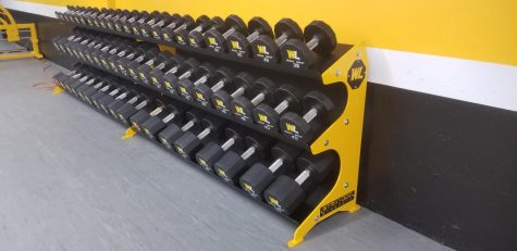 New custom dumbbells and rack