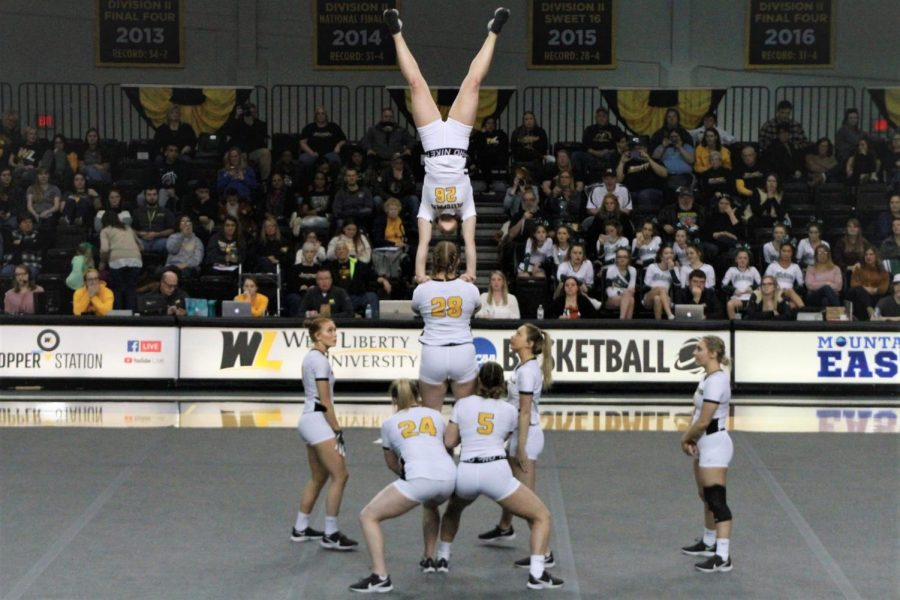 Acrobatics and Tumbling hopes to have a stellar season, even with major changes