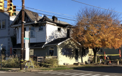 Pictured above is the now burned Avenue Eats restaurant on Nov. 1, 2020.