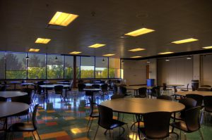 How COVID-19 has affected the cafeteria on campus