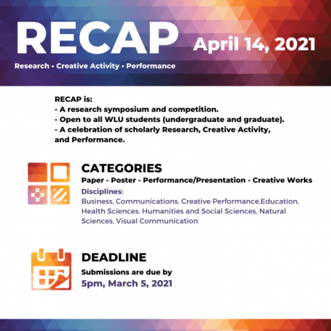 Flyer for RECAP