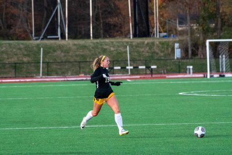 Senior Soccer player Cate Calissie prepares for her final season