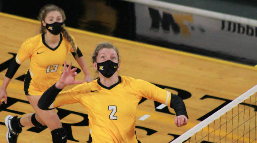 Who is WLU's Maddie Clayton? MEC volleyball player of the week