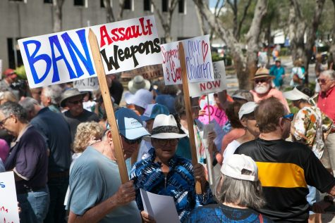 A riot to ban assault weapons