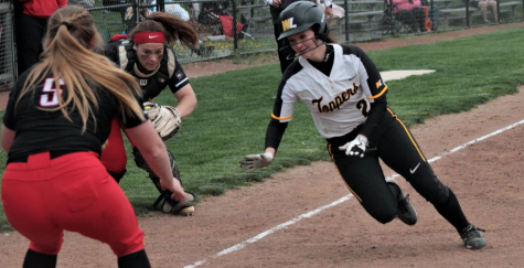 West Liberty Softball versus Davis and Elkins and West Virginia Wesleyan