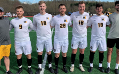Senior night win for men's soccer, difficult week for women's soccer