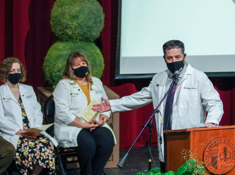 Physician Assistant program presents first-year students with white coats
