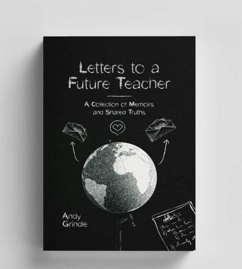 West Liberty alumni Andy Grindle writes about his first two years as a middle school music teacher in his new book which will be available for purchase on May 1, 2021.