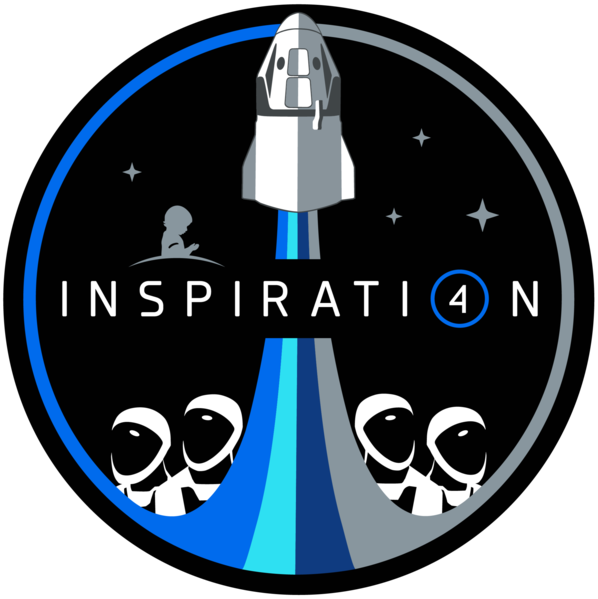 Logo for the Inspiration4 mission.