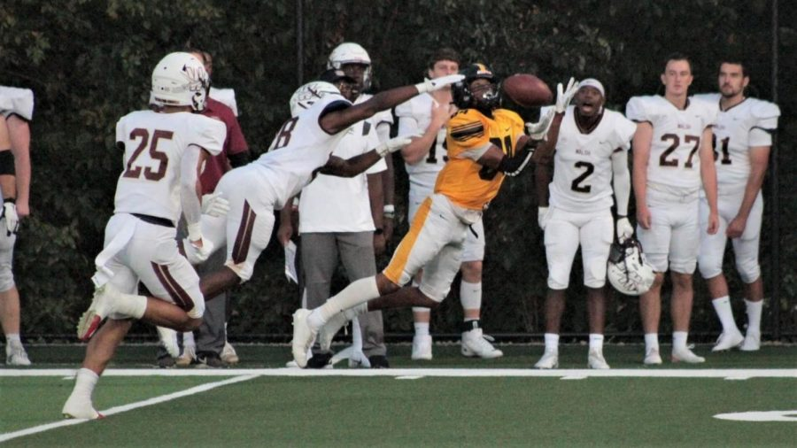 The opening kick-off was Isaiah Robinson, this is a past picture.