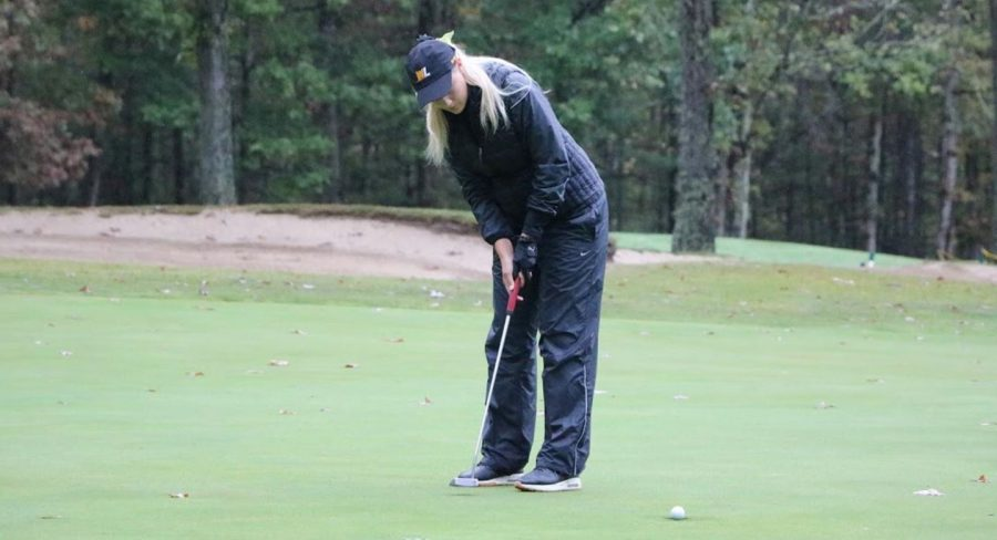 This is Kailey Pettit from West Libertys womens golf team on 9/19/2021.