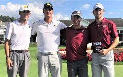 WLU Golf competes for MEC championship