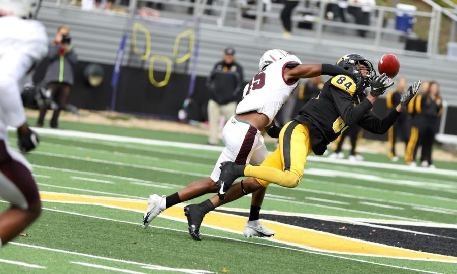 West Liberty against Fairmont State on Oct. 16.