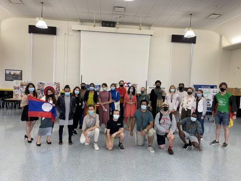 Students who attended the International Culture Fair.