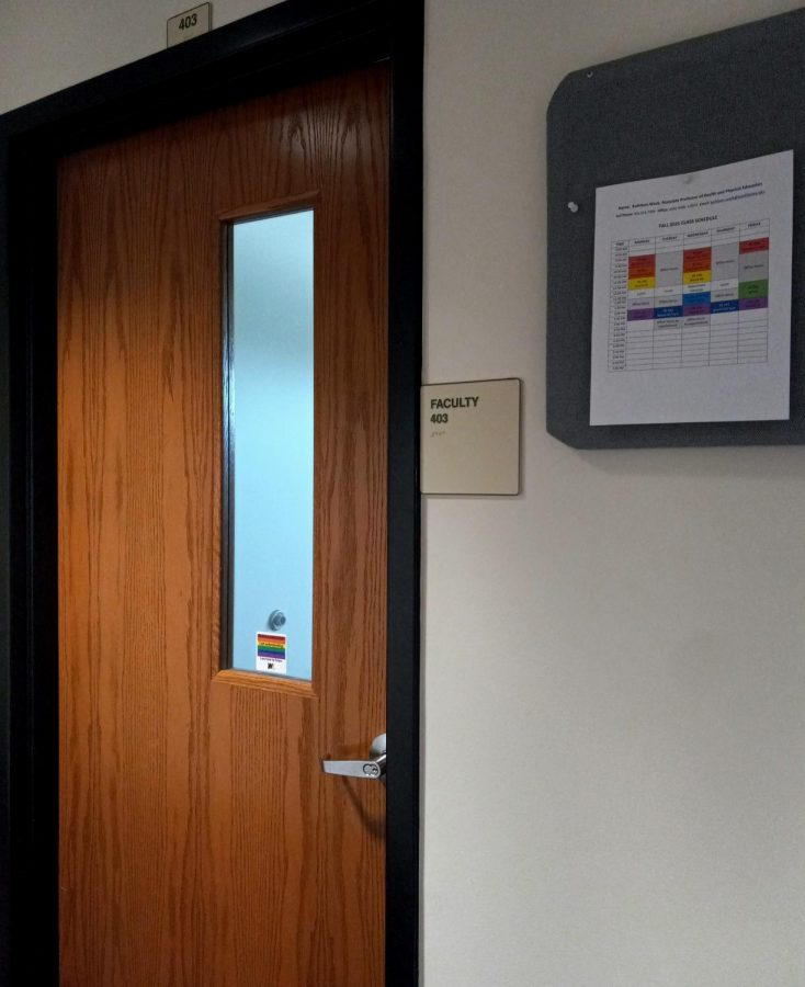 Kathleen Wacks office is located on floor 4 of the ASRC building.