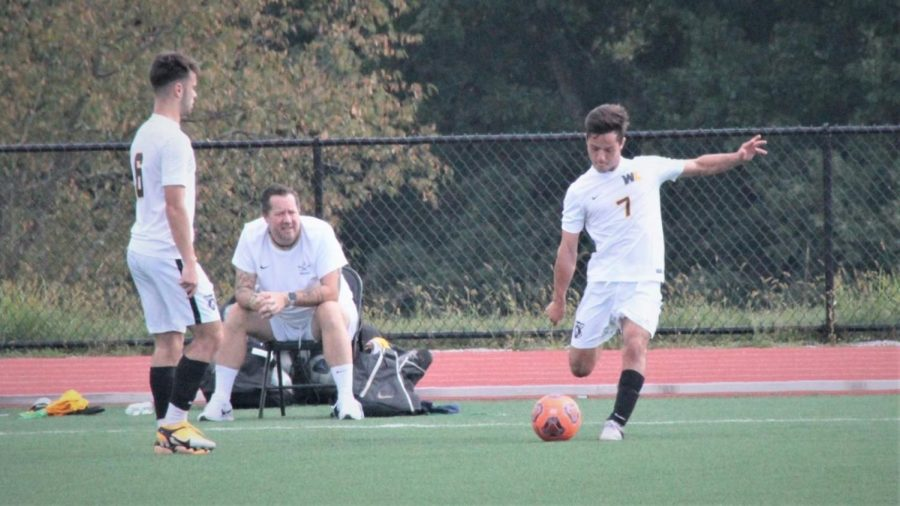 Mens soccer against California (PA) on Oct. 13.