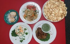 The Hispanic cuisine is served at West Libertys cafeteria on Wednesday, Sept. 6.